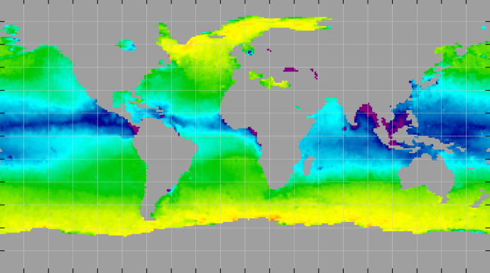 Sea surface density, November 2014